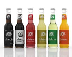 3D Fritz Soft Drinks