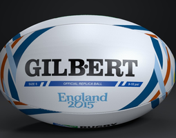 GILBERT Official RWC 2015 3D Model