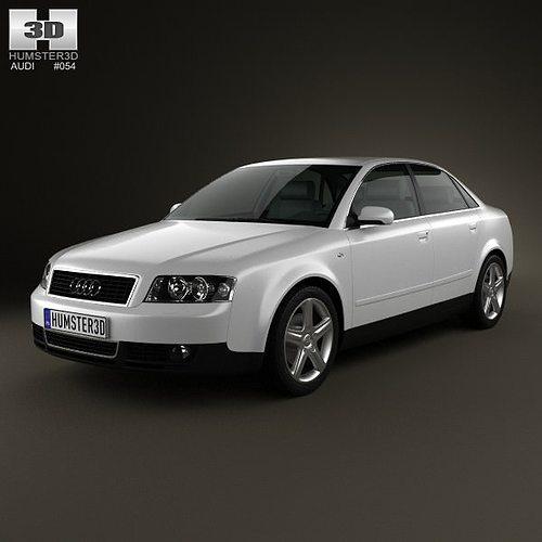Audi A4 2002 Price: Audi A4 B6 Sedan 2002 3D