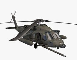 3D UH-60 Blackhawk KFOR