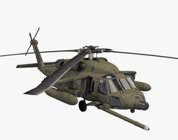 uh-60 blackhawk us army 3d model obj 3ds fbx c4d dae