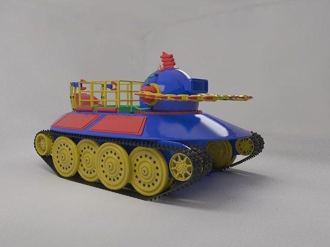 toy robot submarine 3d model max 1