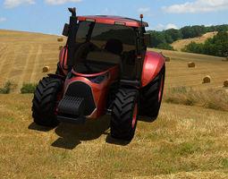 concept tracktor 3d