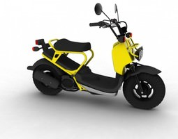 Honda Ruckus 2012 3D Model