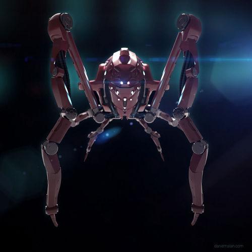 Inmate nurse robot3D model