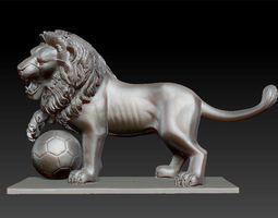 Lion Sculpture 3d model 3D Model
