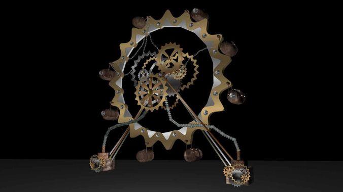 Big Wheel3D model