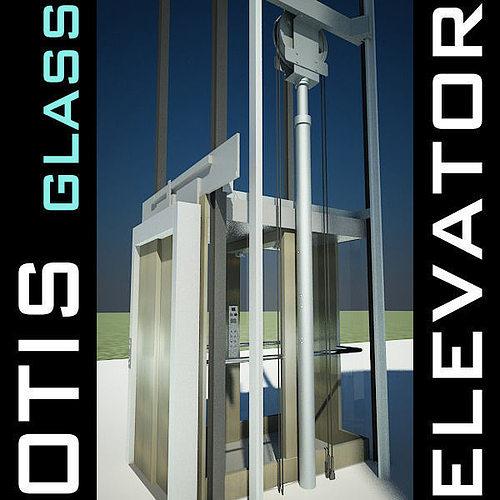 elevator lift 3d model produced by otis 3d model max obj mtl 3ds fbx c4d lwo lw lws 1