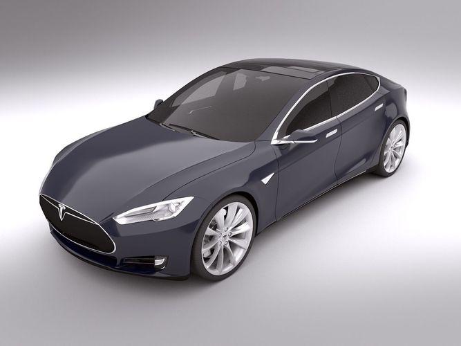 Tesla Model S 20133D model