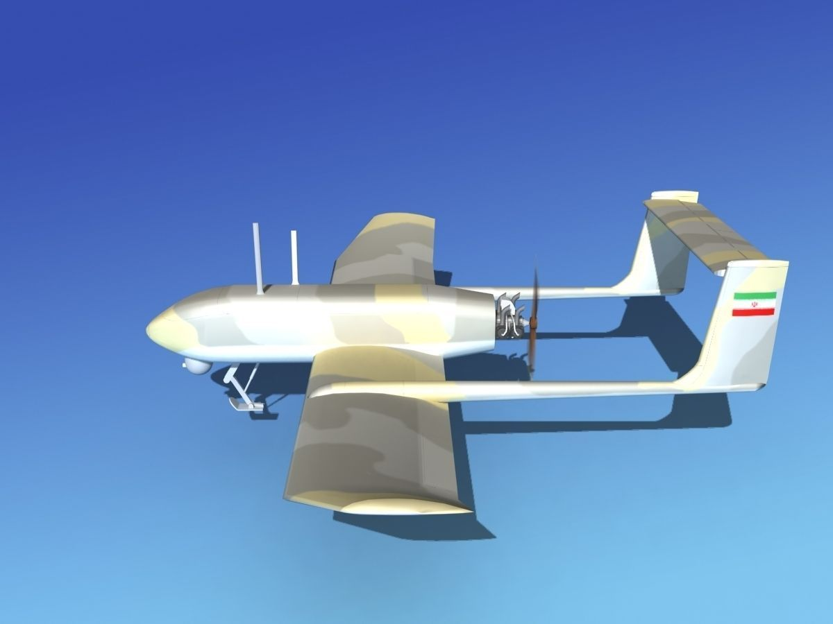 Mohajer 4 Drone V01