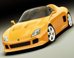 Concept Roadster Original Design 3D