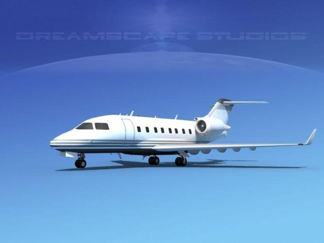 Bombardier Challenger CL-605 V053D model
