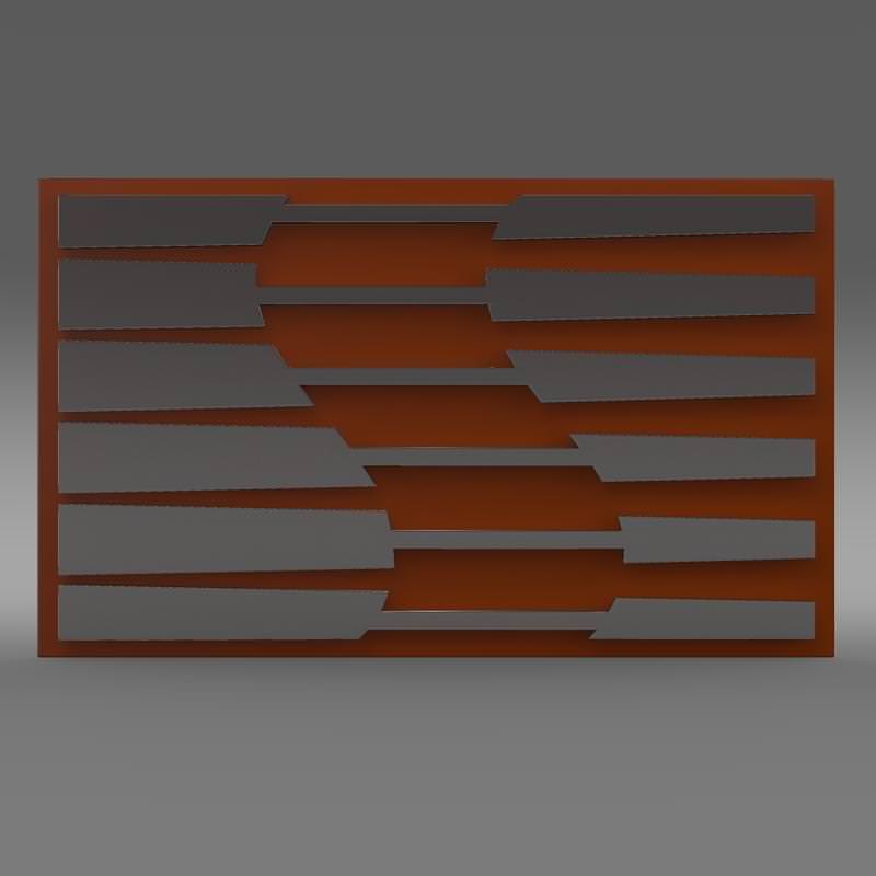 saleen logo 3d model max obj 3ds fbx c4d lwo lw