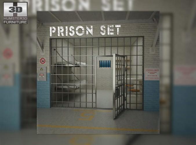 Prison Set3D model