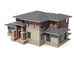 city-block Villa 3D