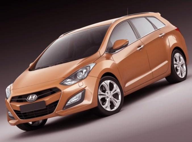 Hyundai i30 Wagon 20133D model
