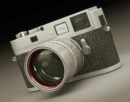 Leica M9-P 3D Model