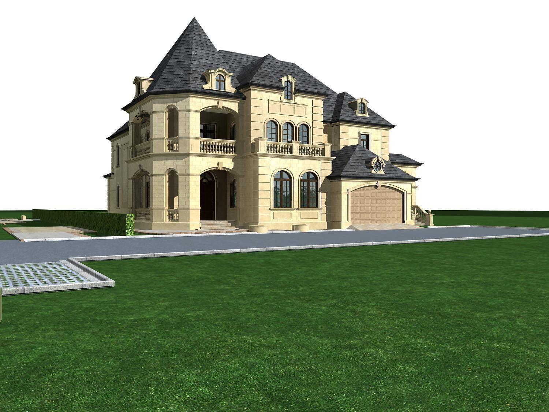 Villa 208 3d model max for Villas 3d model