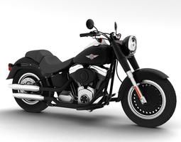 Harley-Davidson FLSTFB Fat Boy Lo 2012 3D