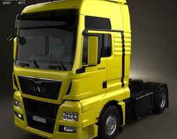3d man tgx tractor truck 2012