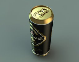 BeerCan 02 3D