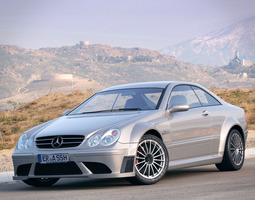 Mercedes Benz CLK63 AMG w209 3D Model