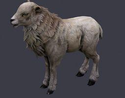 goat lowpoly 3 3D Model