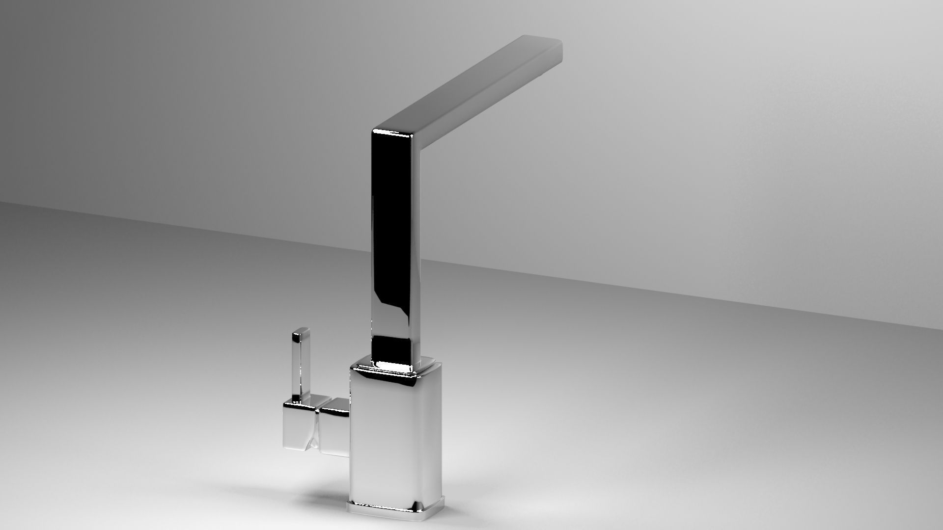 Waterworks Henry Faucet 3D | CGTrader