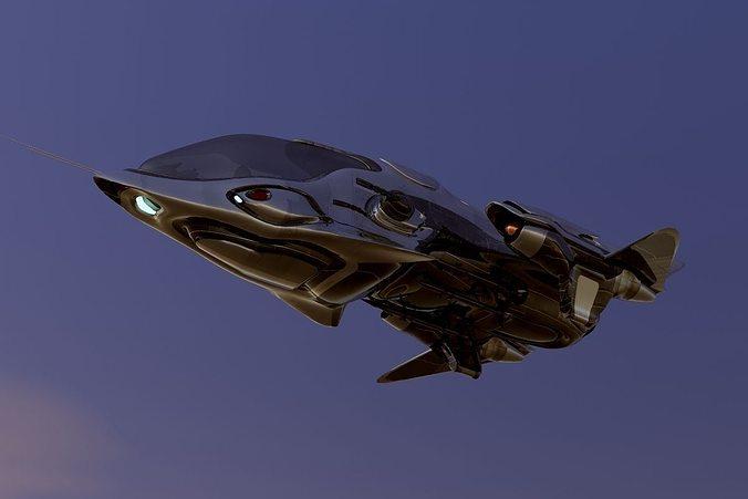FX-27 Raptor Starship