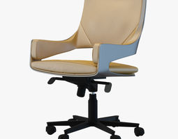 3d model chair silhouette basso i4 mariani