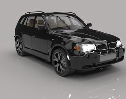 Bmw suv x3 3D Model