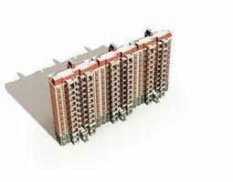 3d high-rise residential 029