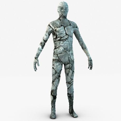 Stone golem guardian3D model