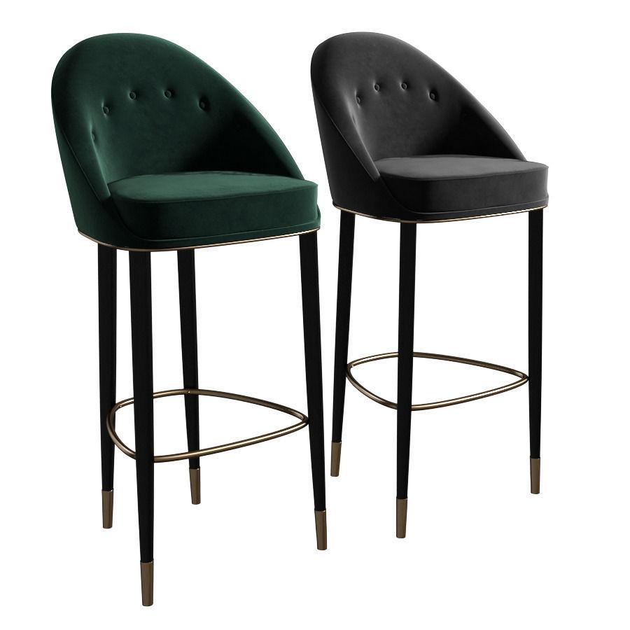 Brabbu Malay Bar Chair 3d Model Max Obj Fbx Mtl Cgtrader Com