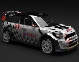 Mini John Cooper Works WRC 3D Model