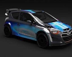 Hyundai i20 WRC 3D Model
