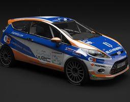 Ford Fiesta R2 3D Model