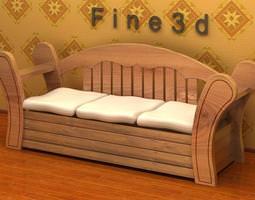 3d model sofa 01-029