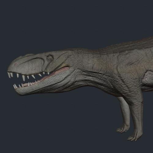 Dino Presto dinosaur3D model