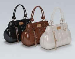Ladies Hand Bag 02 3D Model