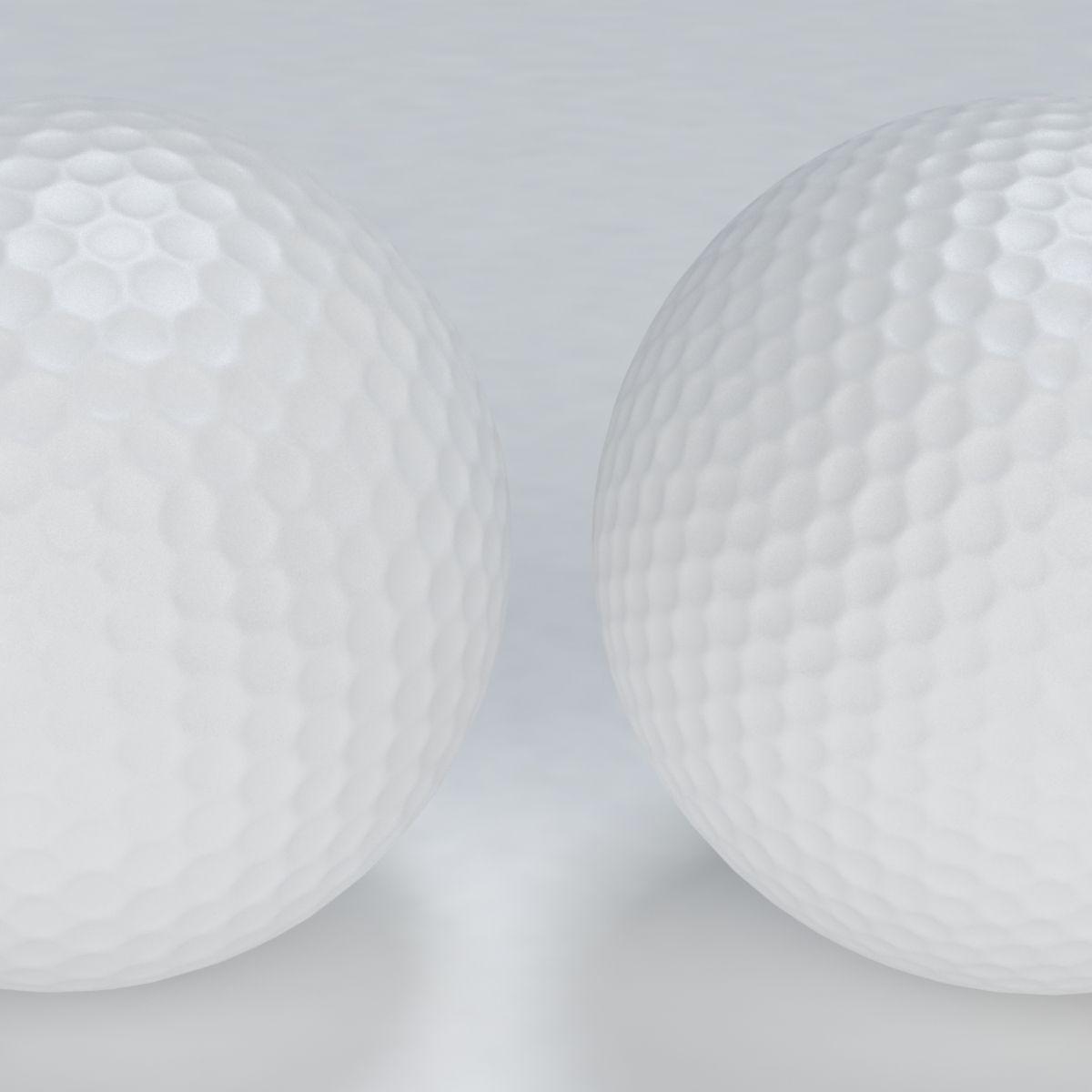 golf ball 3d cgtrader