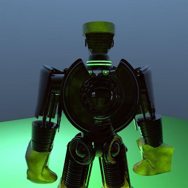 Atom Robot 3d model fr...