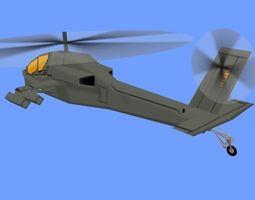 3D model HLICOPTER1
