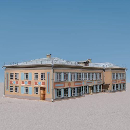 Building Lowpoly 093D model
