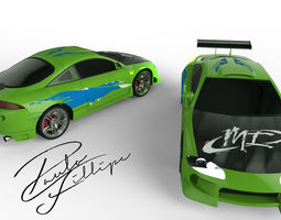 Eclipse Fast and Furious 3D model