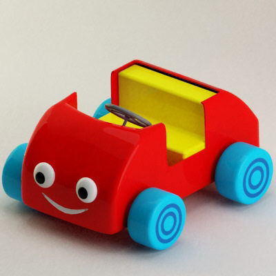 Toy vehicle3D model