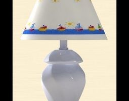 tablelamp forkid 3D Model