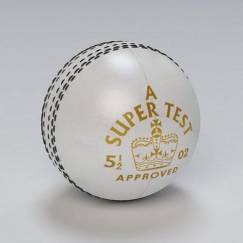 cricket ball stress 3d model max obj mtl 3ds fbx c4d 1