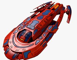 redship 3d model