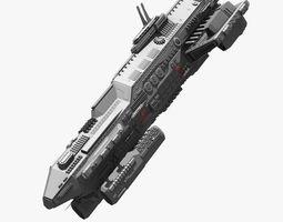 3D model bigspaceship